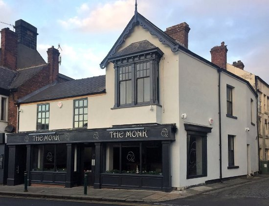 Guisborough, UK: The Monk has recently transformed the old saddlery shop