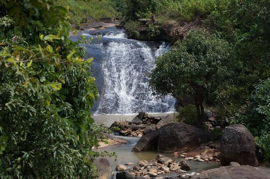 Araku Valley, Индия: Down the waterfall