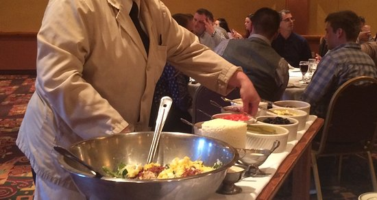 Kaminski's Chop House : Best Salad I have ever had was Called Garbage Salad