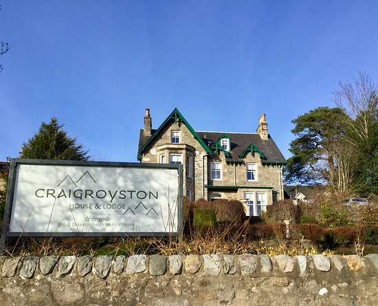 Craigroyston House and Lodge