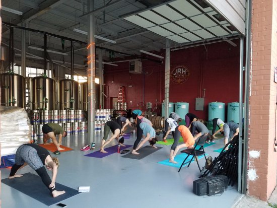 Johnson City, TN: Yoga and Beer Every Wed @ 6:30