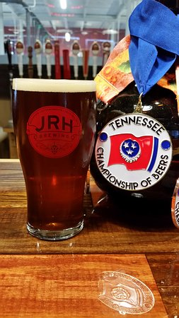 Johnson City, TN: Edgework Irish Red-Gold Medal Tennessee Championship of Beers