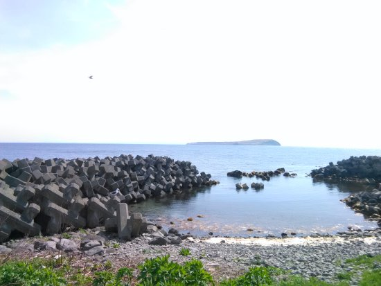 Haboro-cho, Japan: 浜の様子