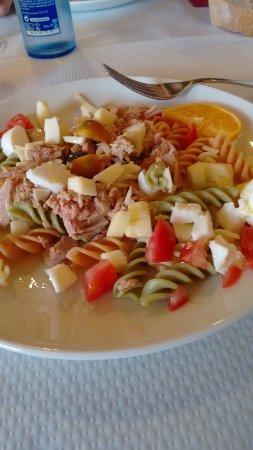 Il Milenio: ensalada de pasta fría