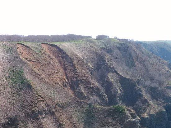 Haboro-cho, Japonya: ハート型の崖