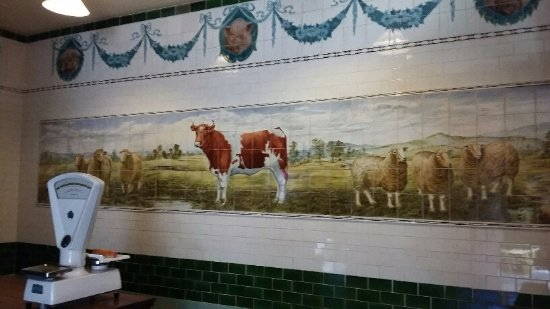 The Butchers Shop tiles - Picture of Jackfield Tile Museum, Telford ...