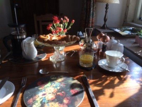 Slaidburn, UK: Breakfast