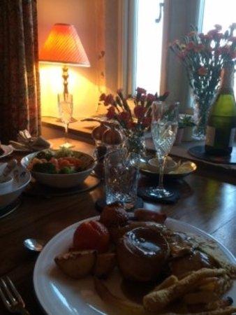 Slaidburn, UK: Dinner