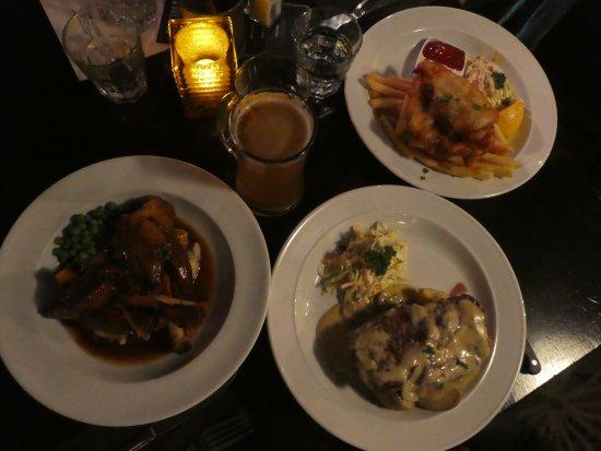 Monsoon Bar & Restaurant: la cena