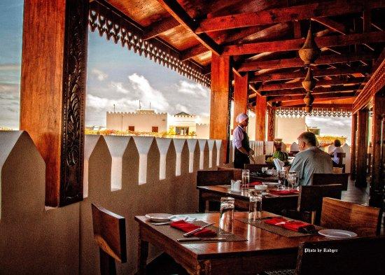 Taarab restaurant views sushi night picture of for Design hotel zanzibar