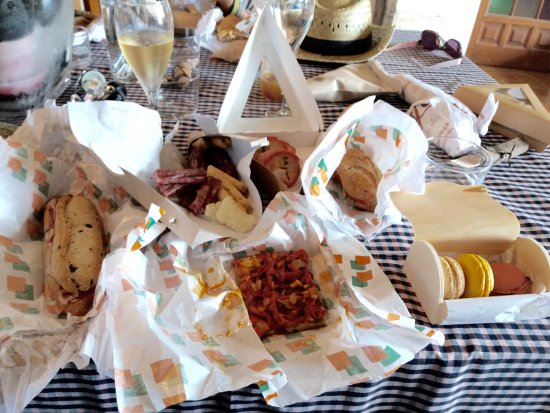 Subirats, Spanyol: The picnic lunch