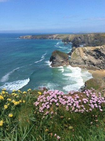 Pendoggett, UK: Cornwall coast