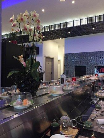 Restaurant Sushi Wan Li: Sushi train