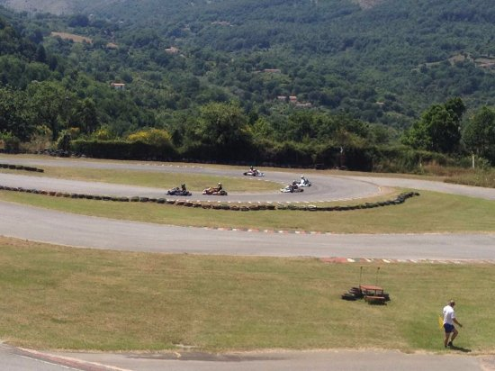 Trecchina, Italy: Kart in pista
