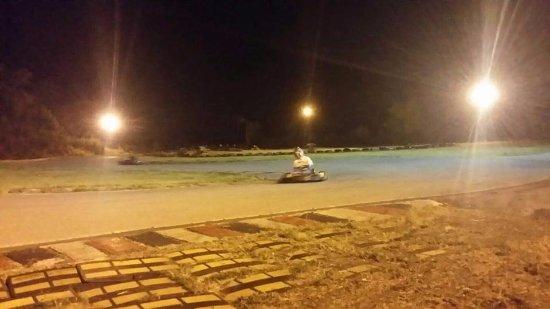 Trecchina, Italy: Kart in pista, notturna