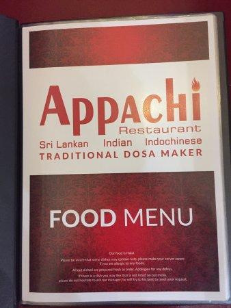 Appachi Restaurant - Ilford