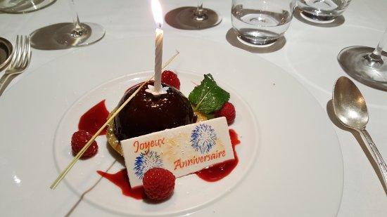 anniversaire de mariage restaurant