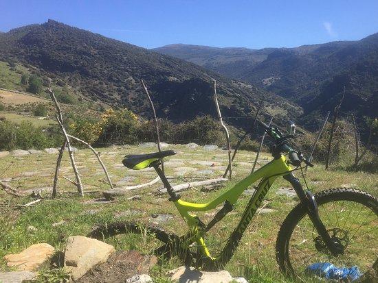 Bérchules, España: On the trail
