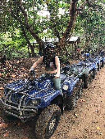 ATV Explorers: me all geared up