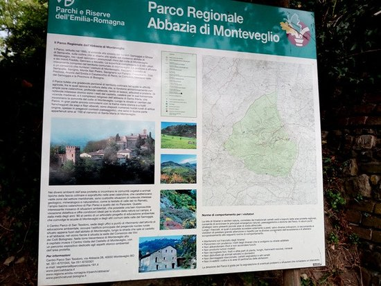 Monteveglio, Italie : Il parco
