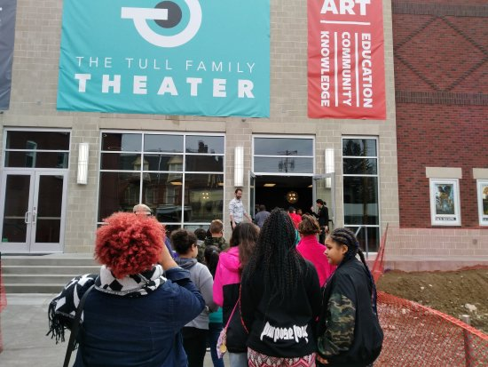 Sewickley, PA: The Tull Family Theater works with other nonprofits on programming and outreach.