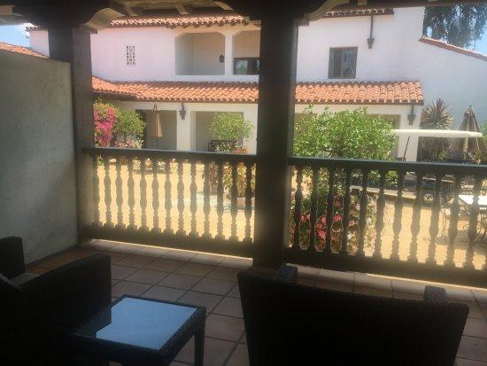 Ojai, CA: Balcony