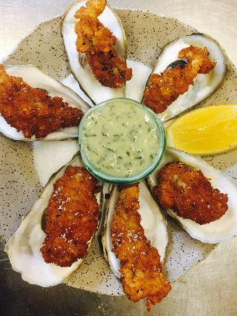 Inn at Weathersfield: Fried oysters