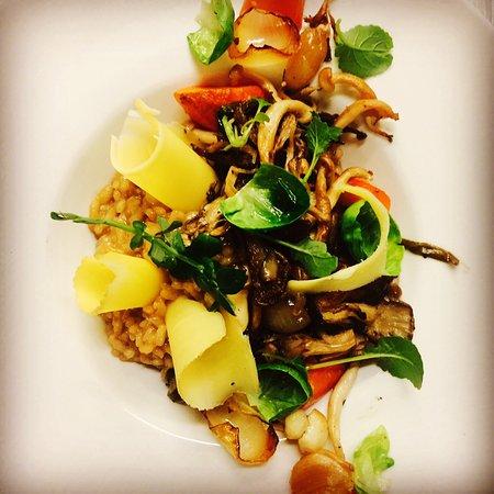 Inn at Weathersfield: Vegetarian dish
