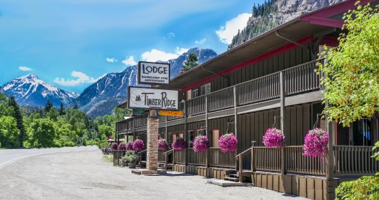 Map of Ouray Hotels and Attractions on a Ouray map TripAdvisor