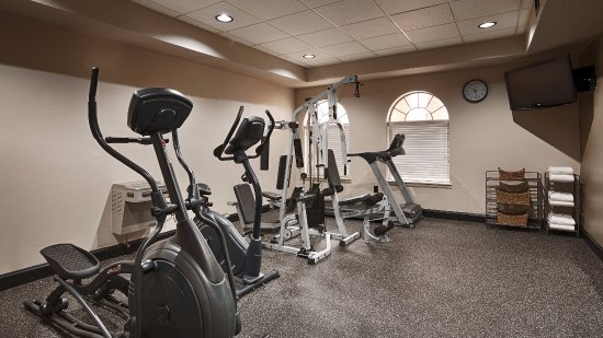 Best Western Heritage Inn: Fitness Center