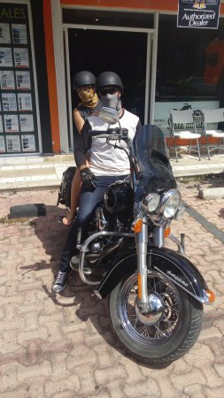 Australian Bikers On A Riviera Mayan Harley Davidson Rental