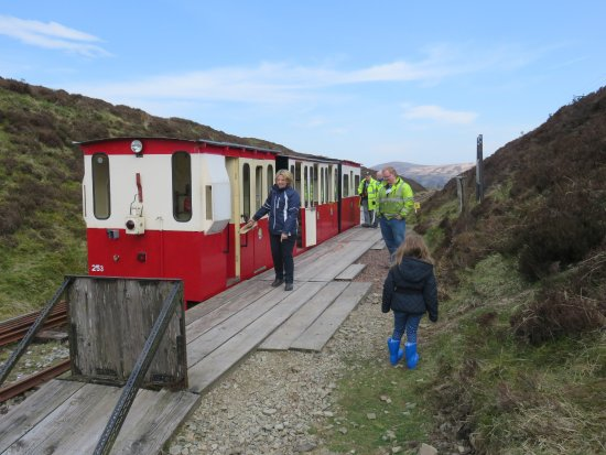 Leadhills, UK: End of the line at Glengonnar