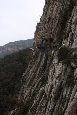 Dengfeng, Cina: Cliff path
