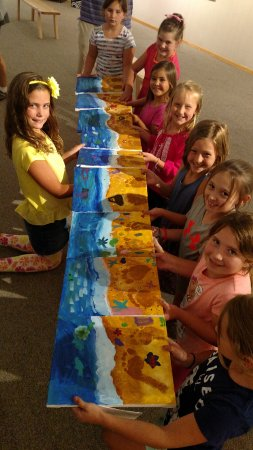 Little Falls, MN: Great River Arts offers artistic Birthday Party packages too!