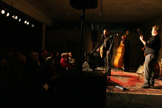 Little Falls, MN: The Church of Cash take the stage for a fantastic tribute to Johnny Cash in January 2015