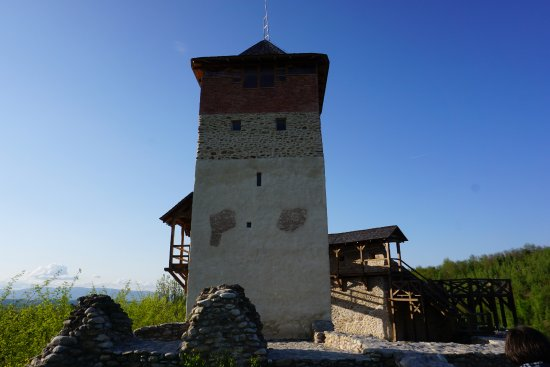 Malaiesti, Romania: the citadel
