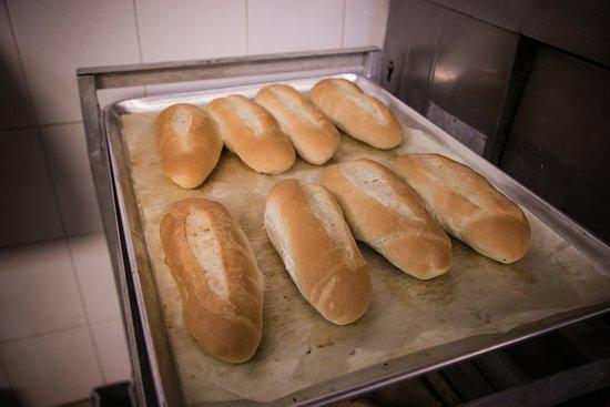 Tamarac, FL: The bread is baked fresh daily!