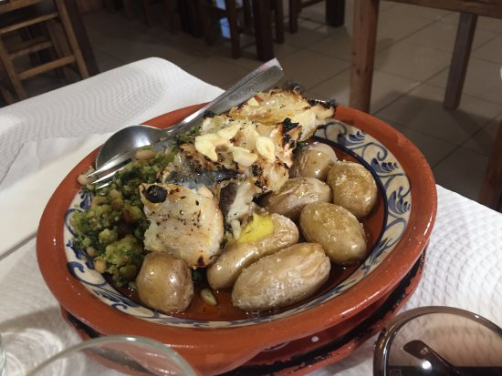 Ourem, Portugal: bacalhau