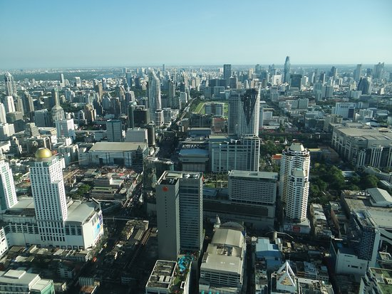 View From Observation Deck Picture Of Baiyoke Sky Tower