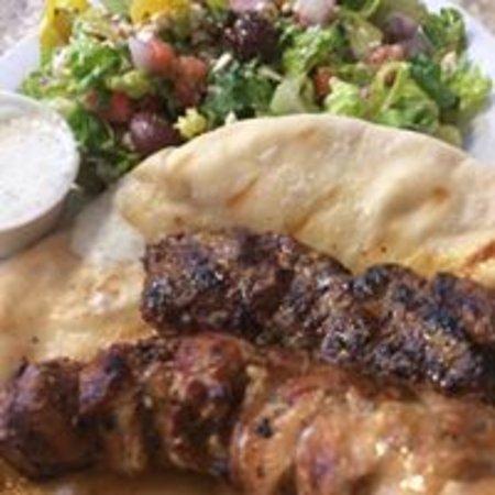 Bedoian's Bakery & Bistro : Combo Kebab