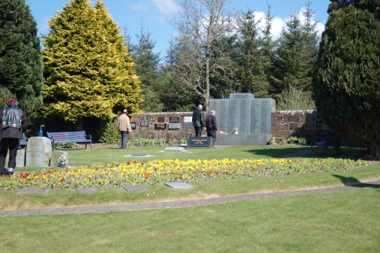 Lockerbie, UK: A place for respectful, quiet contemplation of a tragic event