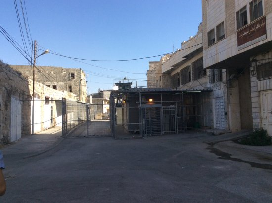 Palestinian Territories: Checkpoints in the city