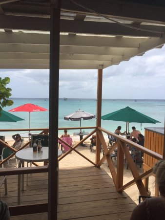 Ju Ju's Beach Bar and Restaurant: What a view?