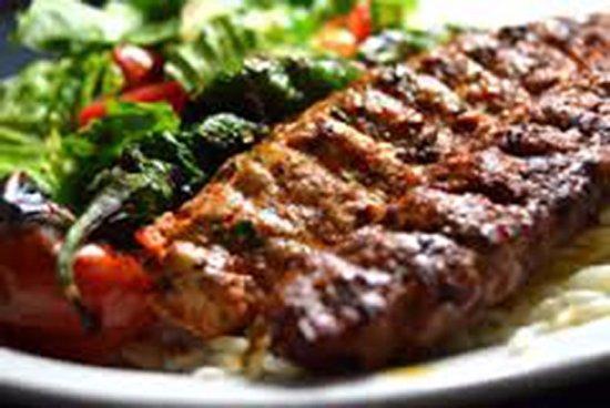 Bedoian's Bakery & Bistro: Adana Kebab with Greek Salad & Homemade Pide Bread