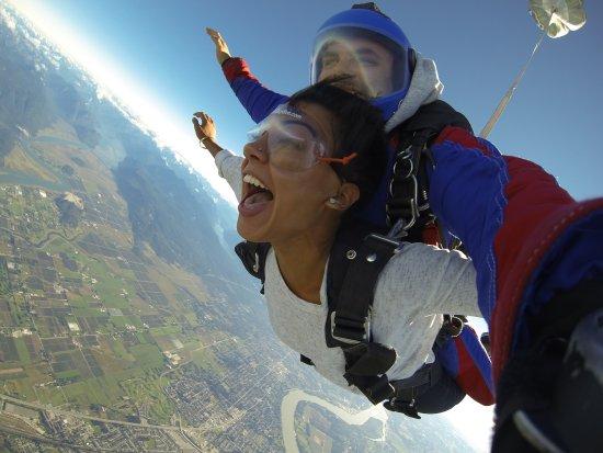 Pitt Meadows, Canadá: Freefall fun!