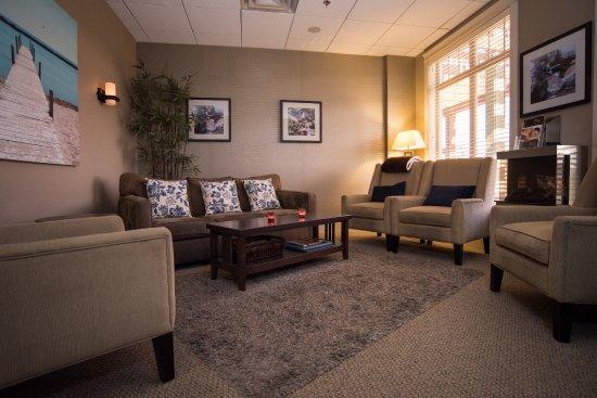 Courtenay, Καναδάς: Lounge