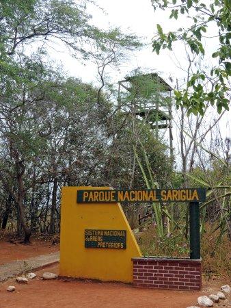 Sarigua National Park: Der Aussichtsturm ist leider nicht zugänglich
