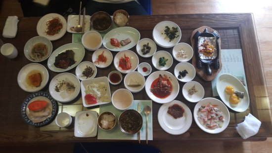 Okcheon-gun, Corée du Sud : 아리랑