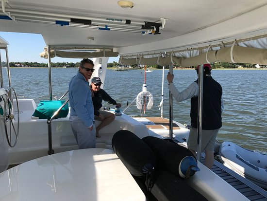 Charleston Sailing School: Sailing near Charleston