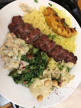Jerusalem Bakery: Mixed Kabab Platter